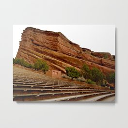 Red Rocks Amphitheater Metal Print