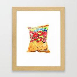 Corn Snacks SuperMarket Framed Art Print
