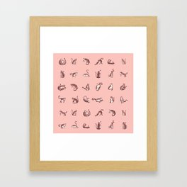 Janek and Juri Framed Art Print