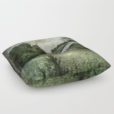The Cloverfield House Floor Pillow