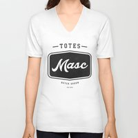totes V-neck T-shirts featuring Totes Masc - Vintage by lessdanthree