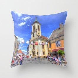 Szentendre Town Hungary Throw Pillow