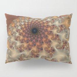 Caramel Cream - Fractal Art Pillow Sham