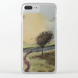 Path to tree Clear iPhone Case