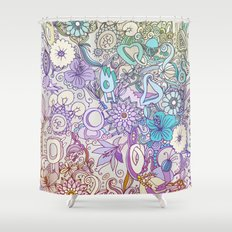 Camtric world creatures Shower Curtain