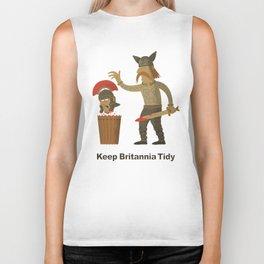Keep Britannia Tidy Biker Tank