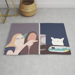 Taylor and Smudge The Cat Meme  Rug