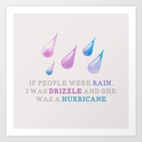 looking for alaska Art Prints featuring Looking For Alaska: Drizzle by lsmyang