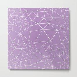Segment Zoom Orchid Metal Print