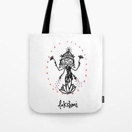 Lakshmi: Goddess of Abundance Tote Bag