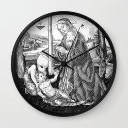 In Vitro Conception Wall Clock