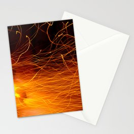 Hot Sparks Stationery Cards