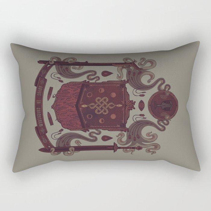 Born in Blood Rectangular Pillow