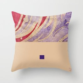 pink&violet3 Throw Pillow