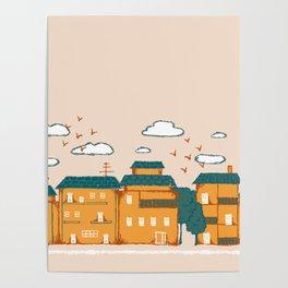 Urban Pastures Border Poster