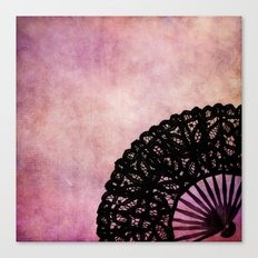 THE OLD FAN Canvas Print