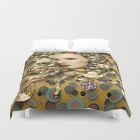 surrealism Duvet Covers featuring pop surrealism, fine art by store2u