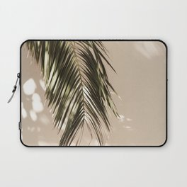 tropical palm leaves vi Laptop Sleeve