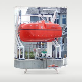 Lifeboat Trainer Shower Curtain