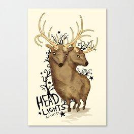 Disoriented Deer Canvas Print