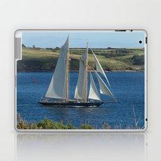 Blue Schooner 02 Laptop & iPad Skin
