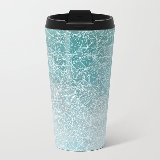 Polygonal A3 Metal Travel Mug