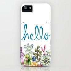 hello spring iPhone (5, 5s) Slim Case