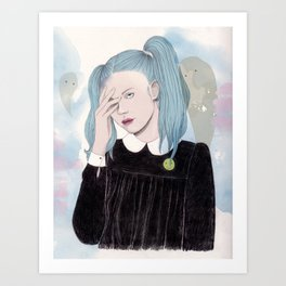 Arvida Art Print