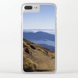 A long walk home - New Zealand Clear iPhone Case