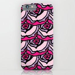 Rock Rose Pink iPhone Case