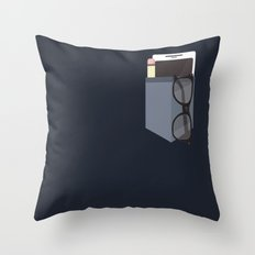 Nerdvana Throw Pillow