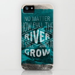 It still wants to grow iPhone Case