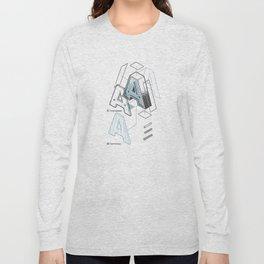The Exploded Alphabet / A Long Sleeve T-shirt