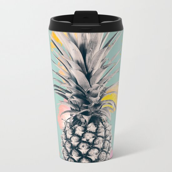PINEAPPLE 5 Metal Travel Mug
