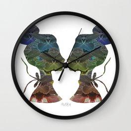 Miss Alcanfor Wall Clock
