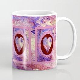 Purple and Red Cosmos Coffee Mug