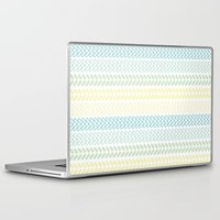 knit Laptop & iPad Skins featuring Knit 2 by K&C Design