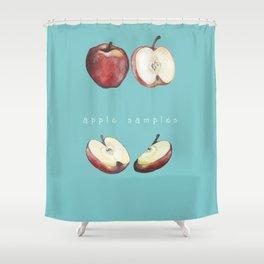 Apple Samples. Shower Curtain