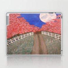 Cherry Blossom Pathway Laptop & iPad Skin