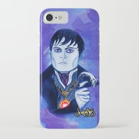 johnny depp iPhone & iPod Cases featuring Barnabas Collins - Johnny Depp by Jonboistars