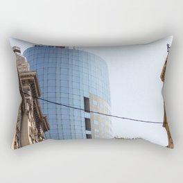 Roumania, Bucharest Financial Plaza Rectangular Pillow