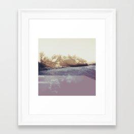 Abstract Desert Landscape Photography Framed Art Print