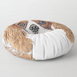 Dog Charles Spaniel Cavalier King Kennel Club American Floor Pillow