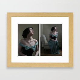 Between Death and the Devil  Framed Art Print