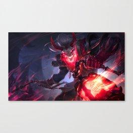 Blood Moon Thresh League Of Legends Canvas Print