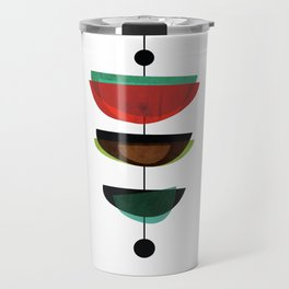 Modern Mid Century Art 3 Travel Mug