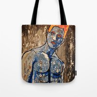 apollo Tote Bags featuring Apollo by Chris The Artist