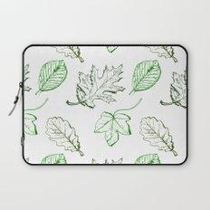 Leaves (greens) Laptop Sleeve