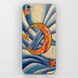 Moon & Stars iPhone Skin