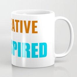 Be Creative Get Inspired Coffee Mug